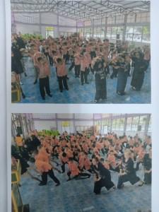 โครงการออกกำลังกายด้วยการเต้นแอโรบิค โรงเรียนบ้านตาด