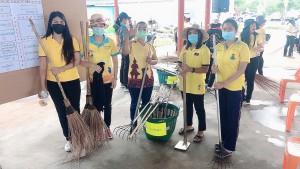 คก.รณรงค์รักษาความสะอาดและความเป็นระเบีย