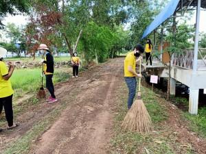 โครงการรณรงค์รักษาความสะอาดและความเป็นระเบียบเรียบร้อยของบ้านเมือง ประจำปีงบประมาณ พ.ศ. 2564